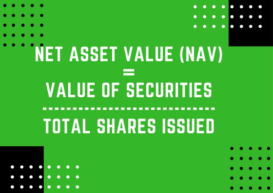 Mutual Fund Net Asset Value Formula